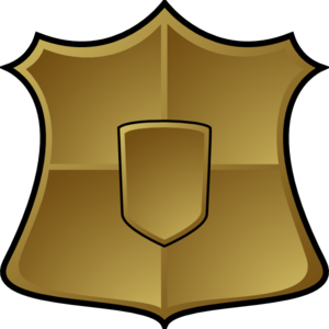 300x300 Police Officer Badge Clipart