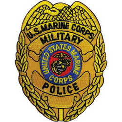 250x250 Usmc Military Police Badge