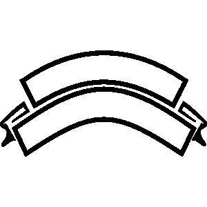 300x300 Crest Shapes Clip Art