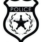 150x150 Magnificent Captivating Police Badge Outline Best Of Leather