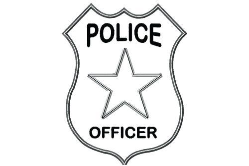 500x333 Marvelous Captivating Police Badge Outline Best Of Sheriff