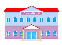210x153 Community Clipart Police Station Building