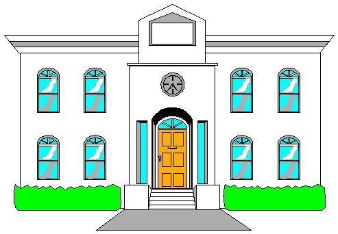 493x342 Building Clipart Municipal Hall