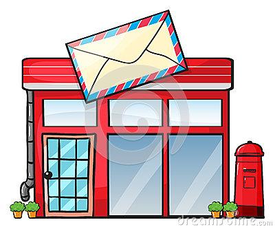 400x333 Post Office Building Clipart 101 Clip Art
