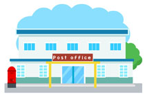 210x153 Shop Clipart Post Office Building
