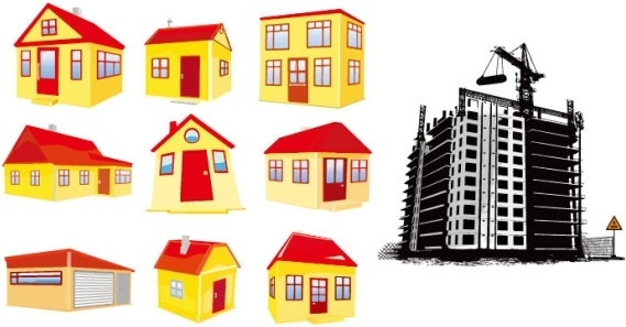 569x297 Building Free Vector Download (1,624 Free Vector) For Commercial