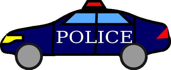 600x247 Police Car Clipart