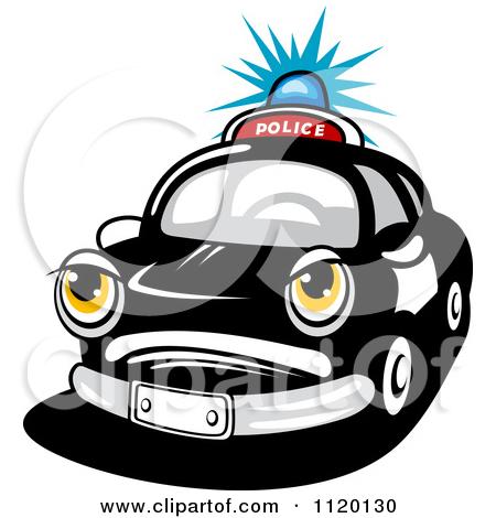 450x470 Police Car Lights Clipart
