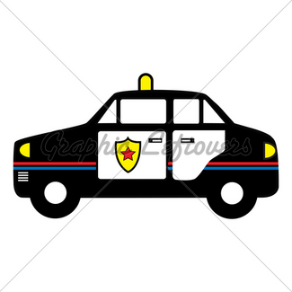 325x325 Police Car Coloring Book Gl Stock Images