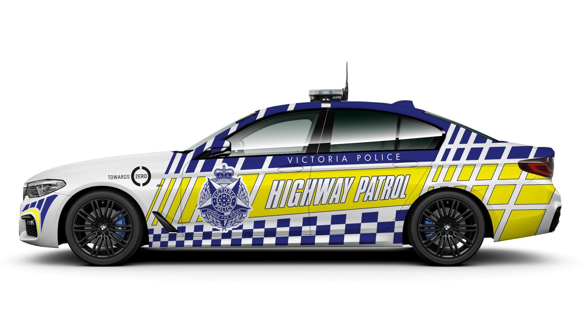 1920x1080 2017 Bmw 530d Police Cars Yes, In Victoria, Australia