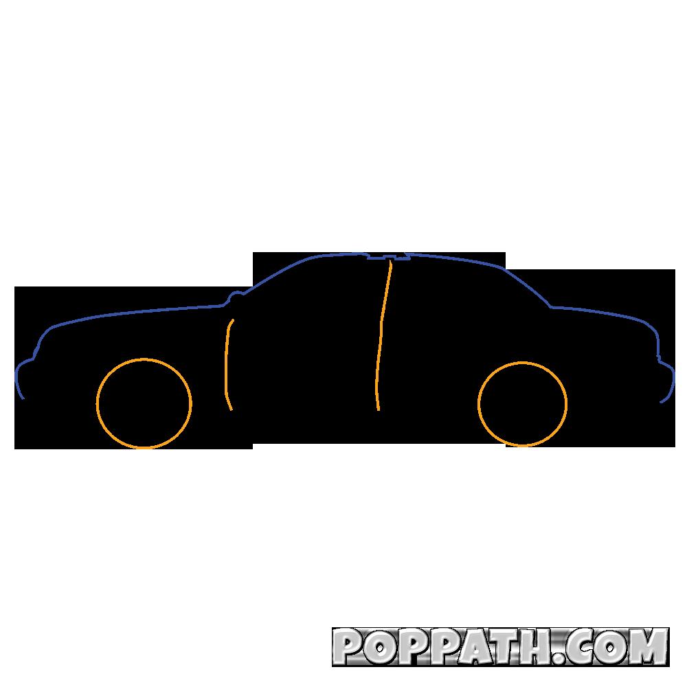1000x1000 How To Draw A Police Car Pop Path