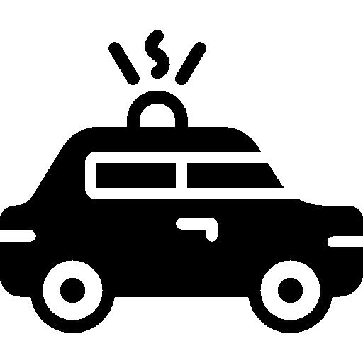512x512 Police Car Icon