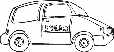465x214 Police Car Pictures For Kids
