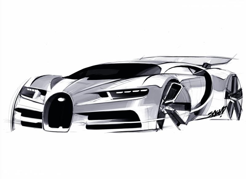 800x580 Police Bugatti Chiron Outline Clipart