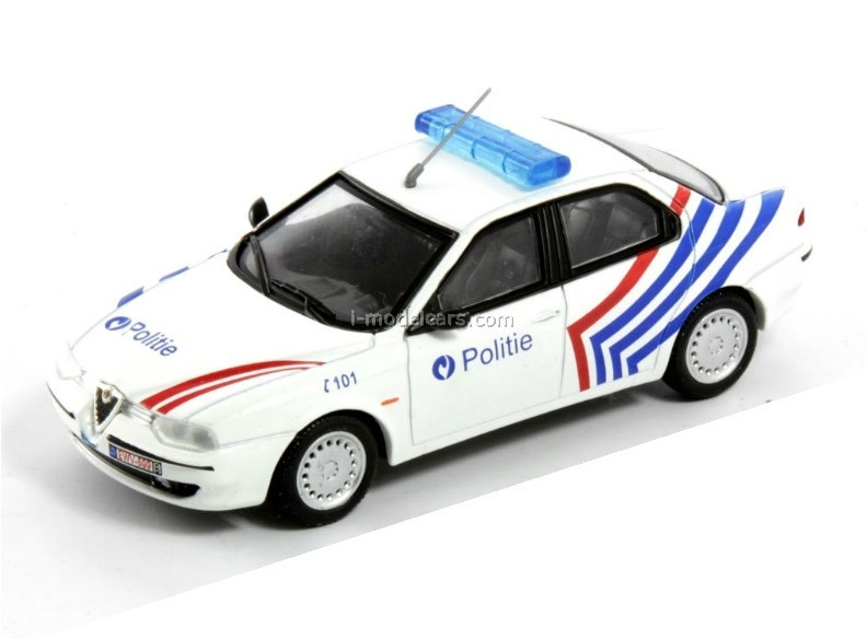 792x584 Model Cars Alfa Romeo 156 Police Belgium 143 Deagostini World'S