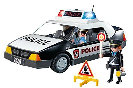 466x310 Playmobil Police Car Amazon.co.uk Toys Amp Games
