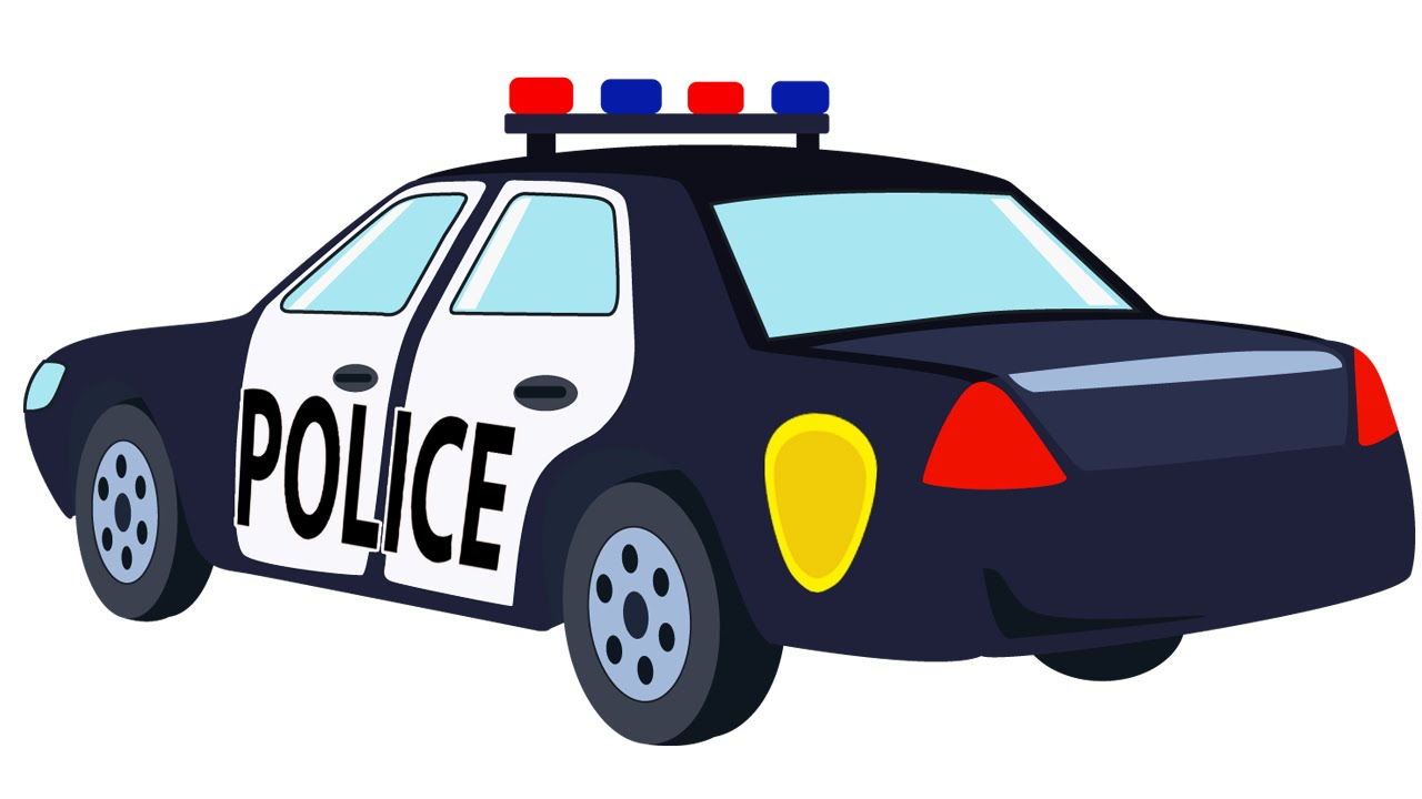 1280x720 Police Cartoon Collection
