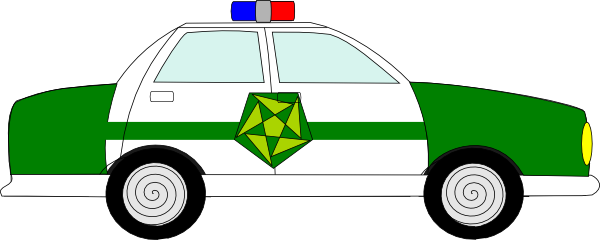 600x240 Police Car Clipart Free Images 6