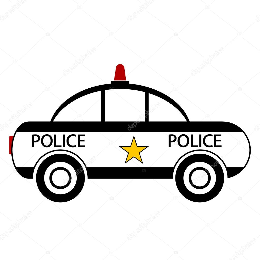 1024x1024 Police Car Icon Stock Vector Konstsem