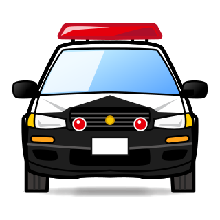 320x320 Oncoming Police Car Emojidex