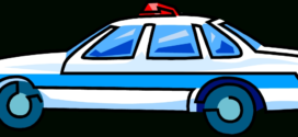 272x125 Police Car Clipart Free Images 7