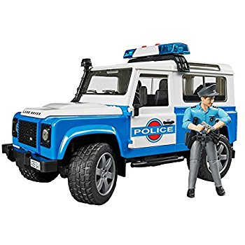 350x350 Jeep Rubicon Police Car With Policeman Toys Amp Games