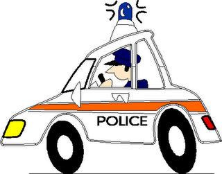 320x251 Cartoon Police Car