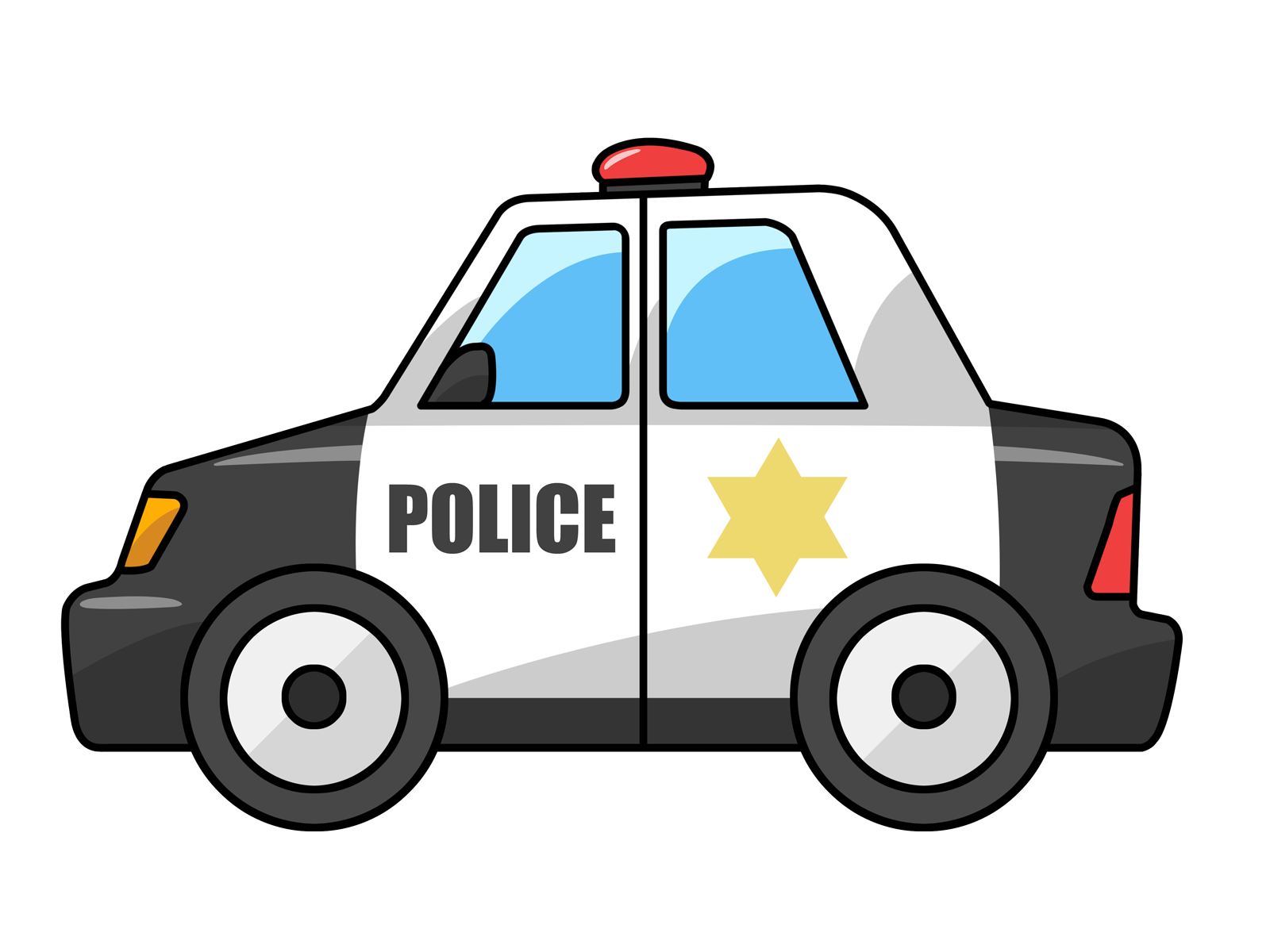 1600x1200 Free To Use Amp Public Domain Police Car Clip Art