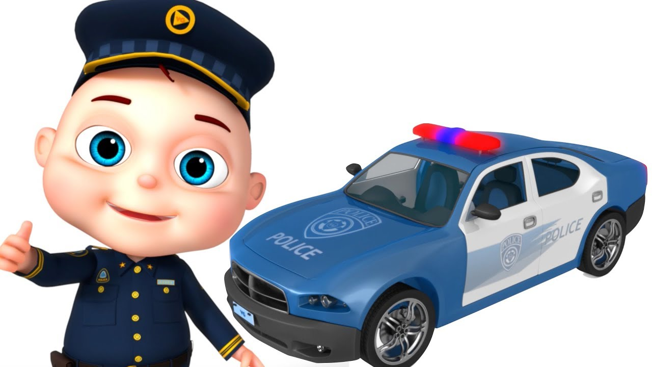 1280x720 Police Car Assembly Vehicle Construction Kids Videos