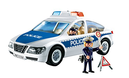 522x317 Playmobil Police Car With Flashing Light Toys Amp Games