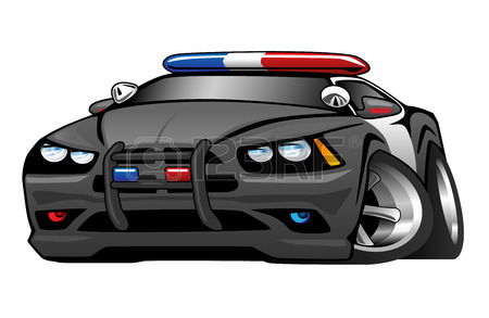 450x293 Cartoon Police Car Royalty Free Cliparts, Vectors, And Stock