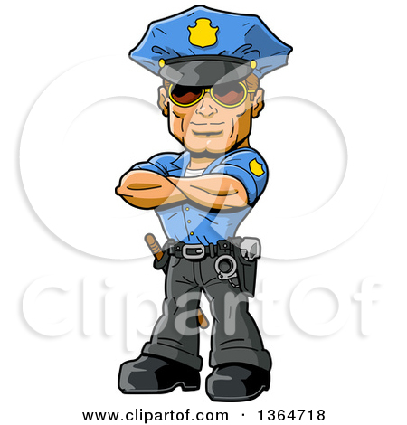 450x470 Policeman With Old Lady Free Clipart