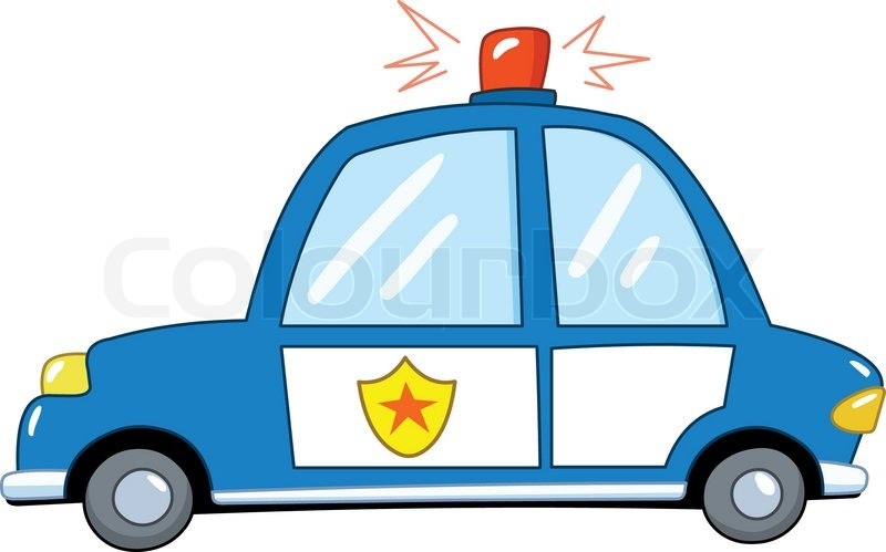 800x499 Cartoon Police Station Stock Vector Colourbox