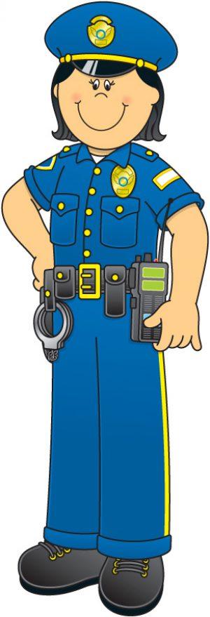 300x879 Police Clipart Christmas