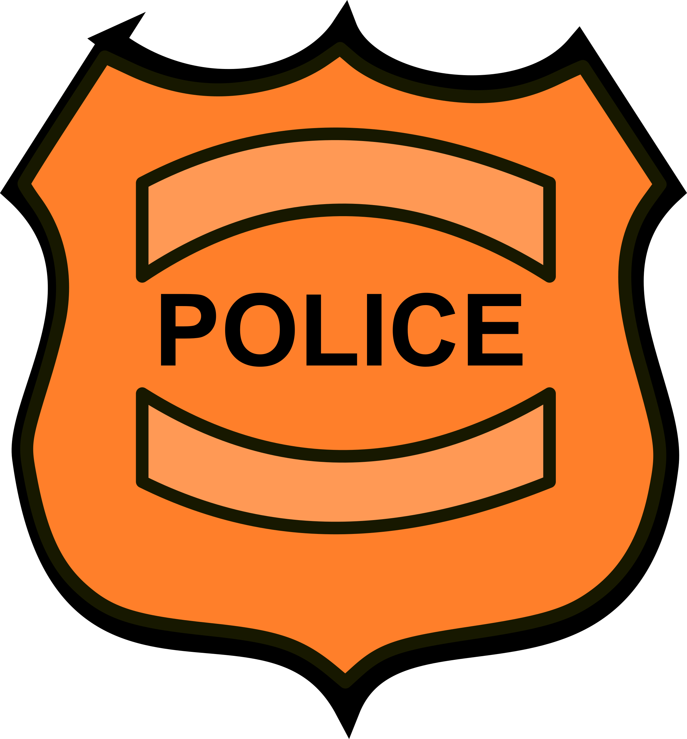 2231x2400 Police Officer Clipart