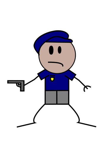 Police Man Clipart