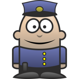 256x256 Free Little Police Officer Clip Art