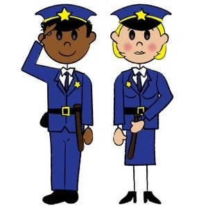 300x300 Police Officer Clipart Letters Example