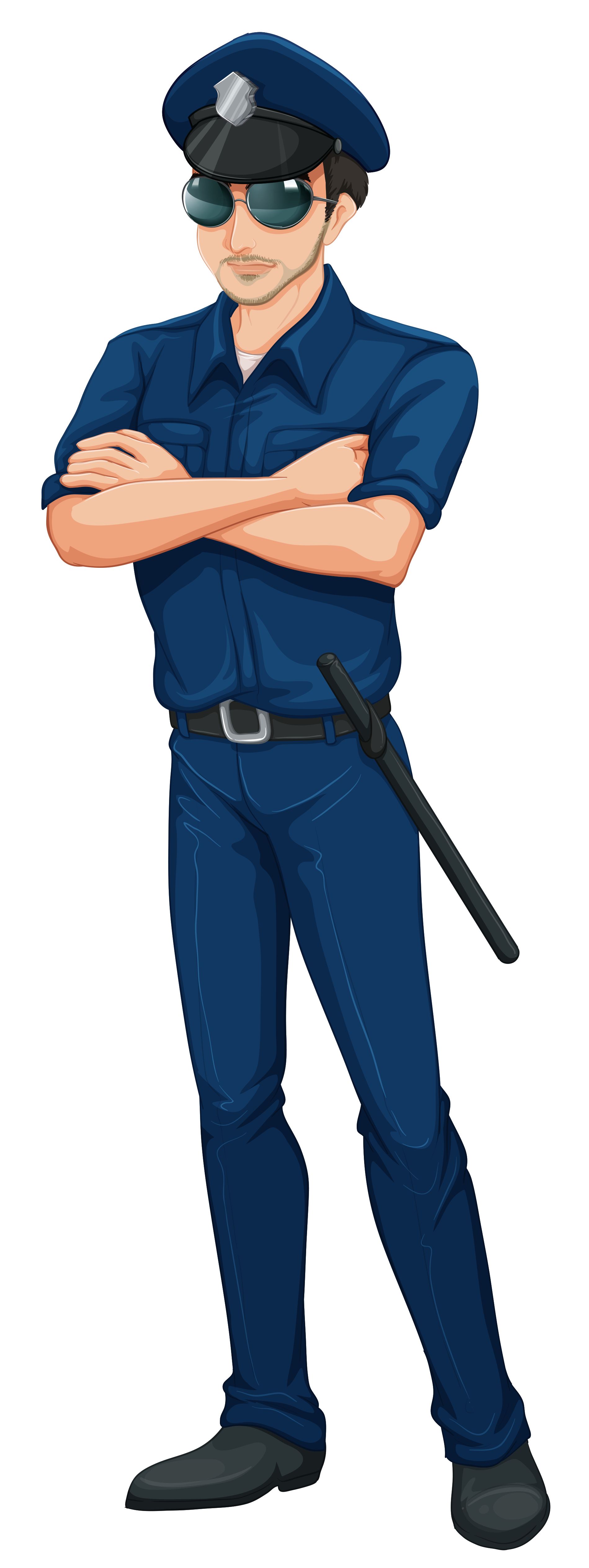 1899x5059 Police Clipart Policeman