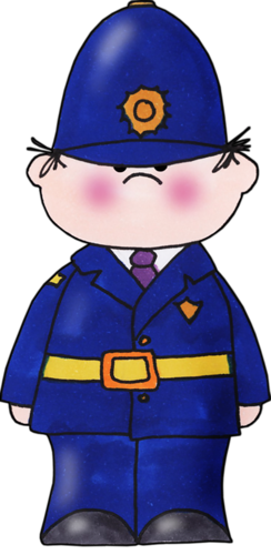 244x500 Policeman School Clip Art, Craft And Album