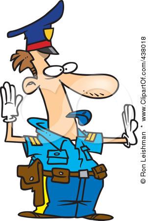 302x450 438018 Royalty Free Rf Clip Art Illustration Of A Cartoon Police