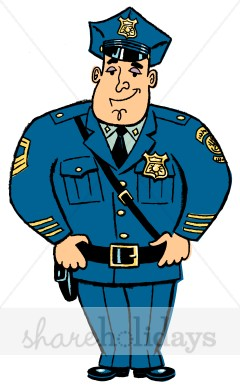 240x388 Police Clipart