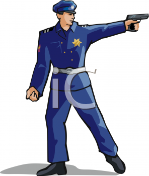 296x350 Royalty Free Police Clip Art, People Clipart