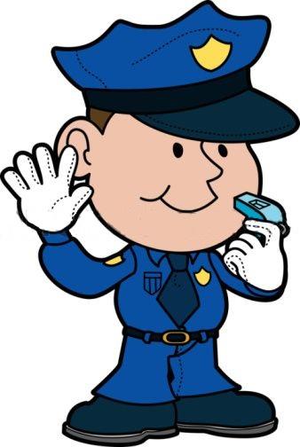 338x504 Clip Art Police Officer Uniform Clipart