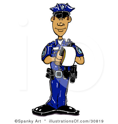 400x420 Officer Animated Clipart