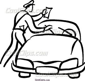 300x286 Police Officer Giving A Vector Clip Art