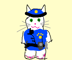 300x250 Frozen Police Officer