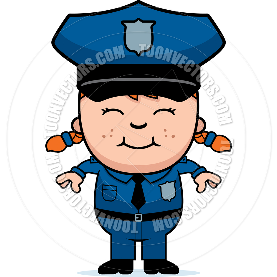 940x940 Girl Police Officer By Cory Thoman Toon Vectors Eps