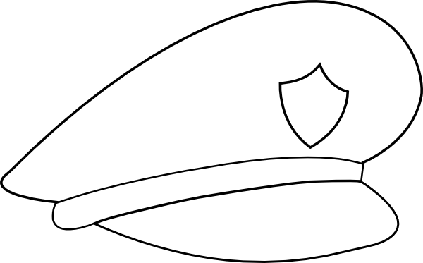 600x373 No Police Officer Hat Clipart