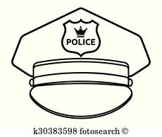 230x194 Police Hat Clipart